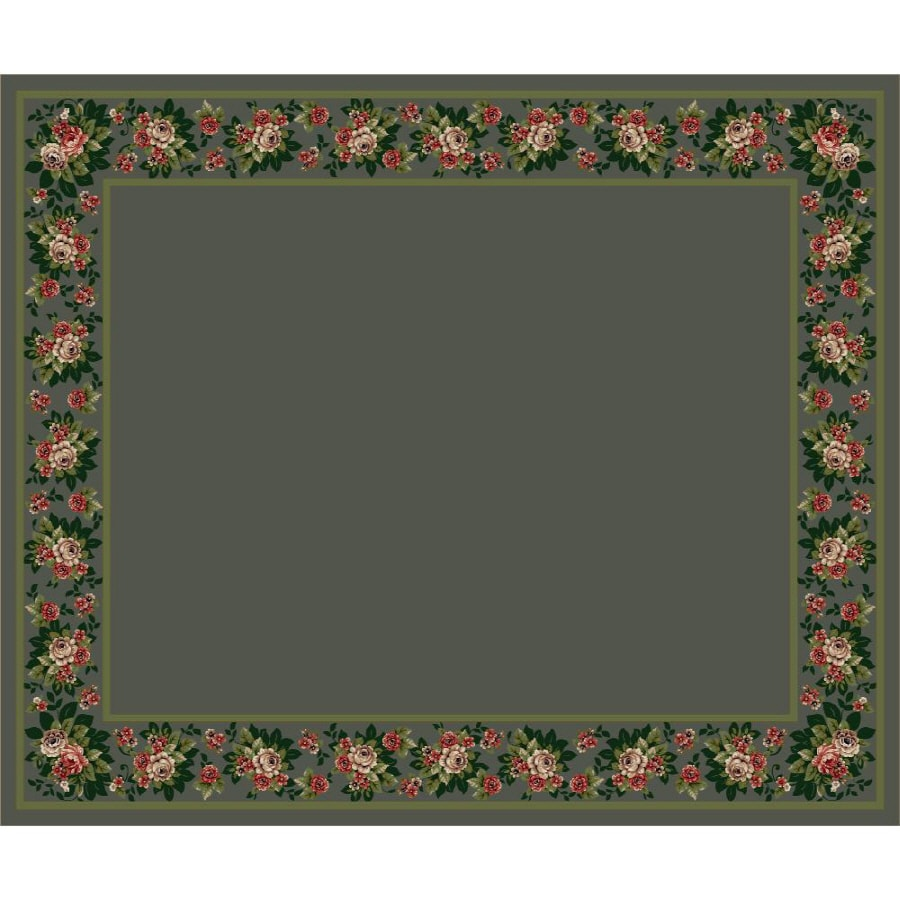 Milliken Imperial Rose Multicolor Rectangular Indoor Tufted Area Rug (Common: 10 x 13; Actual: 129-in W x 158-in L)