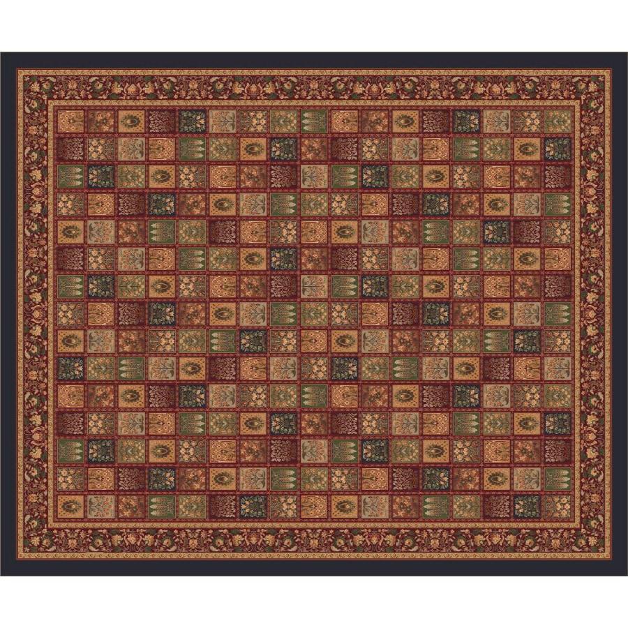 Milliken Pristina Multicolor Rectangular Indoor Tufted Area Rug (Common: 10 x 13; Actual: 129-in W x 158-in L)