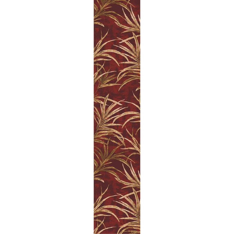 Milliken Rain Forest Multicolor Rectangular Indoor Tufted Runner (Common: 2 x 11; Actual: 28-in W x 140-in L)