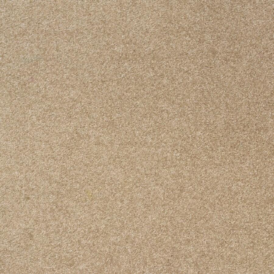 Milliken 12-Pack 19.7-in x 19.7-in Shaving Cream Indoor Textured Adhesive-Backed Carpet Tile