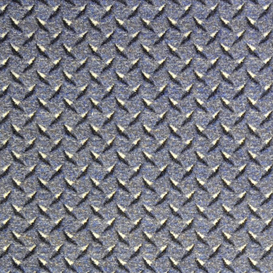 Joy Carpets Kaleidoscope Steel Blue Cut and Loop Indoor Carpet
