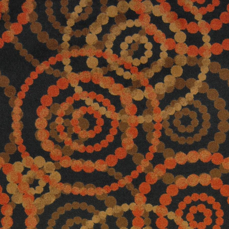 Joy Carpets Kaleidoscope Warm Earth Cut and Loop Indoor Carpet