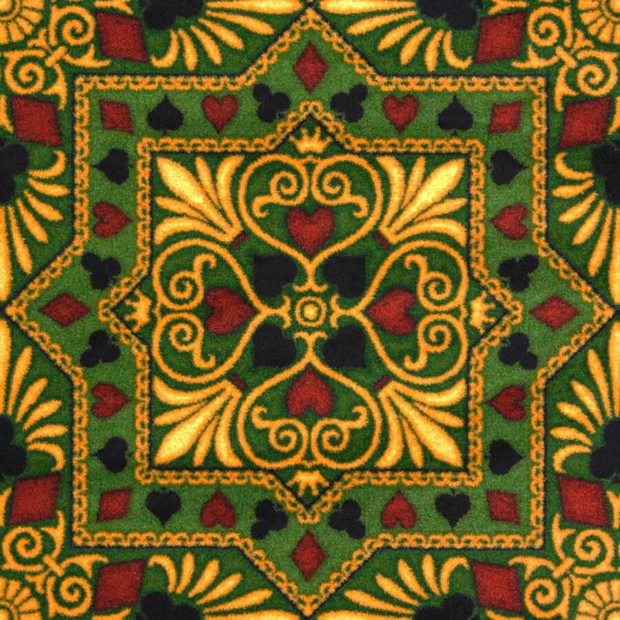 Joy Carpets Games People Play Emerald Cut and Loop Indoor Carpet