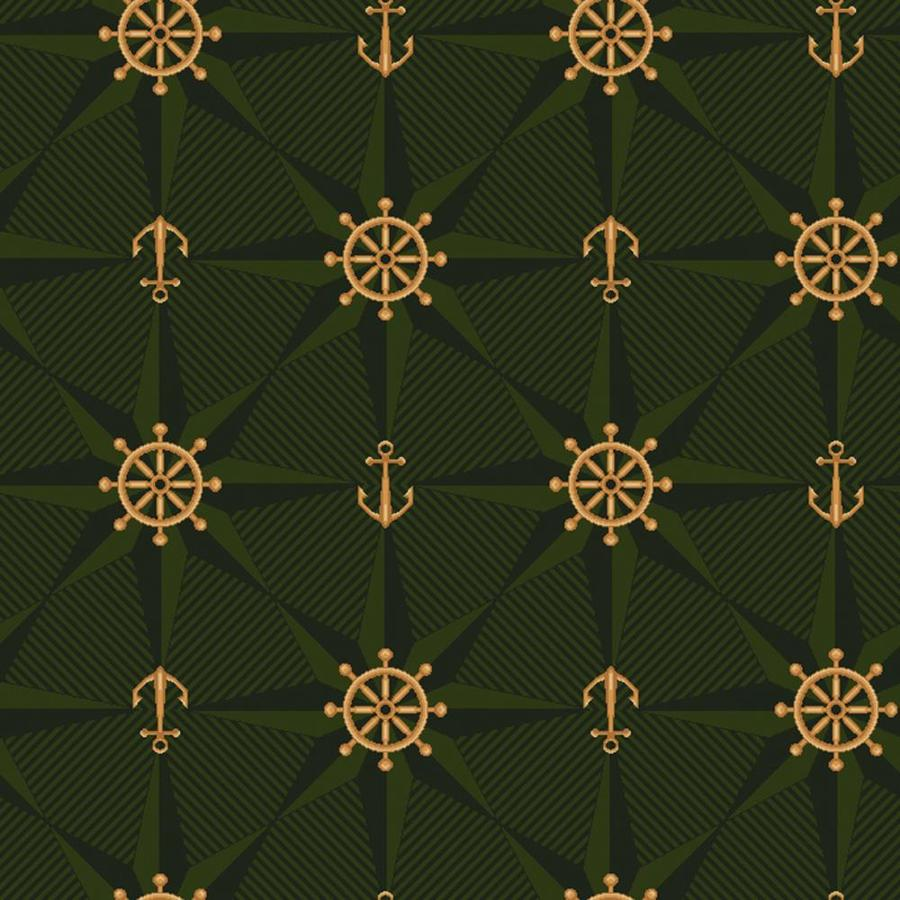 Joy Carpets Kaleidoscope Emerald Cut and Loop Indoor Carpet