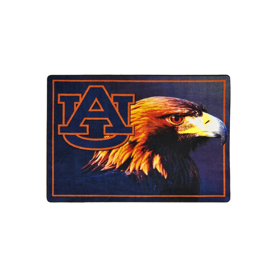 Joy Carpets 2-ft 8-in x 3-ft 10-in Rectangular NCAA Auburn Tigers Accent Rug