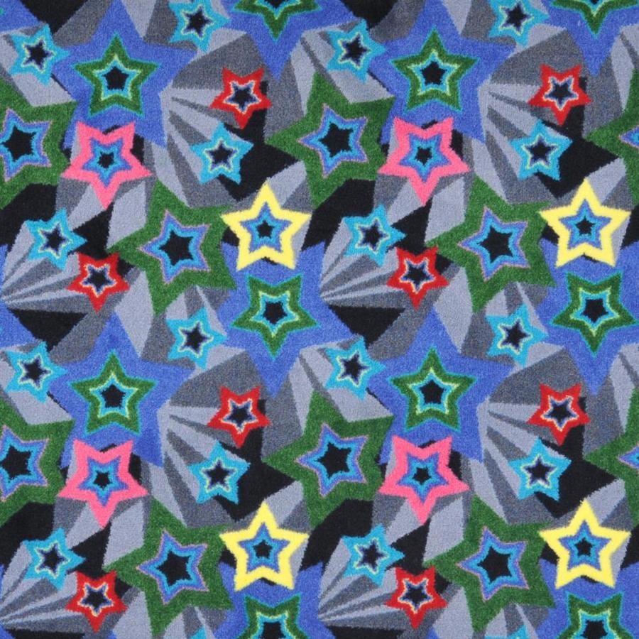 Joy Carpets Kaleidoscope Multicolor Cut and Loop Indoor Carpet