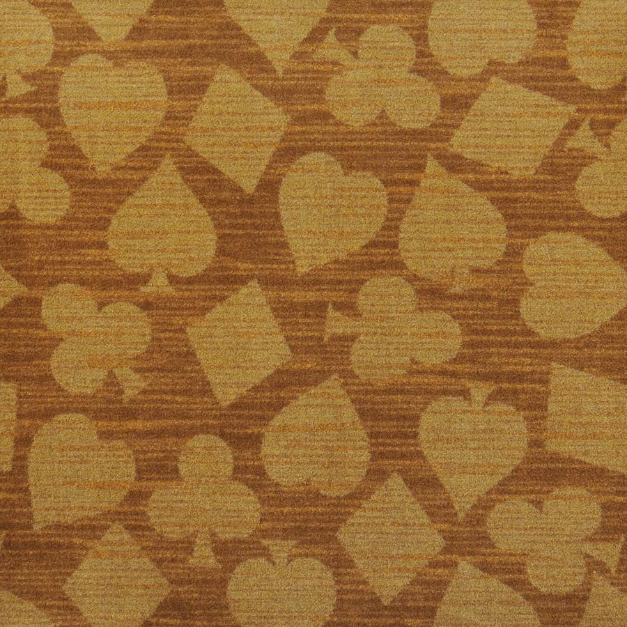 Joy Carpets Games People Play Gold Cut and Loop Indoor Carpet