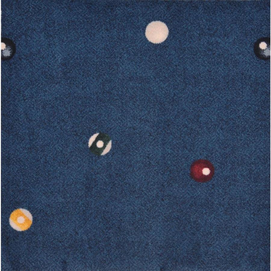 Joy Carpets Games People Play Navy Cut and Loop Indoor Carpet