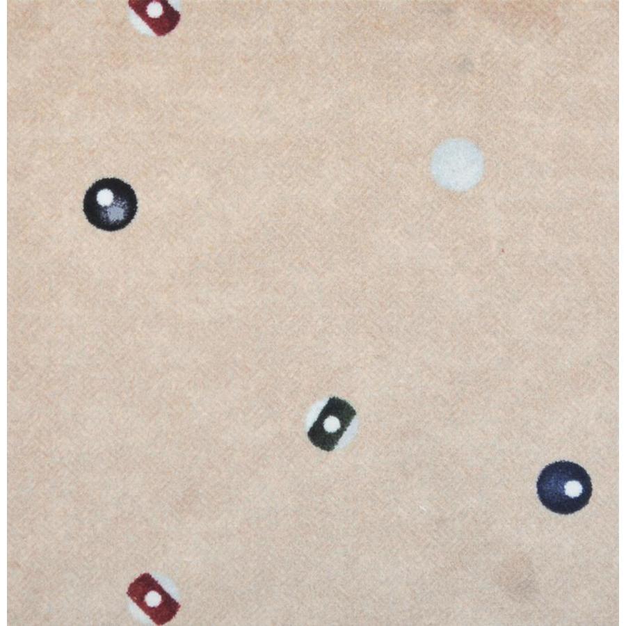 Joy Carpets Games People Play Beige Cut and Loop Indoor Carpet