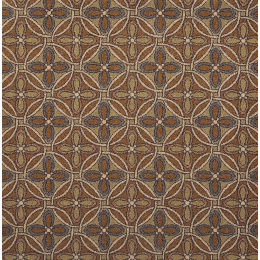 Joy Carpets Any Day Matinee Beige Cut and Loop Indoor Carpet