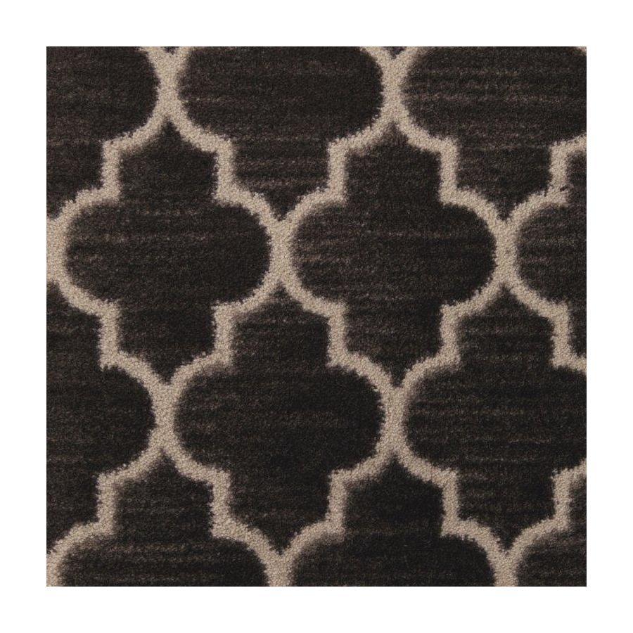 STAINMASTER Classic Grace Modern Black Saxony Carpet