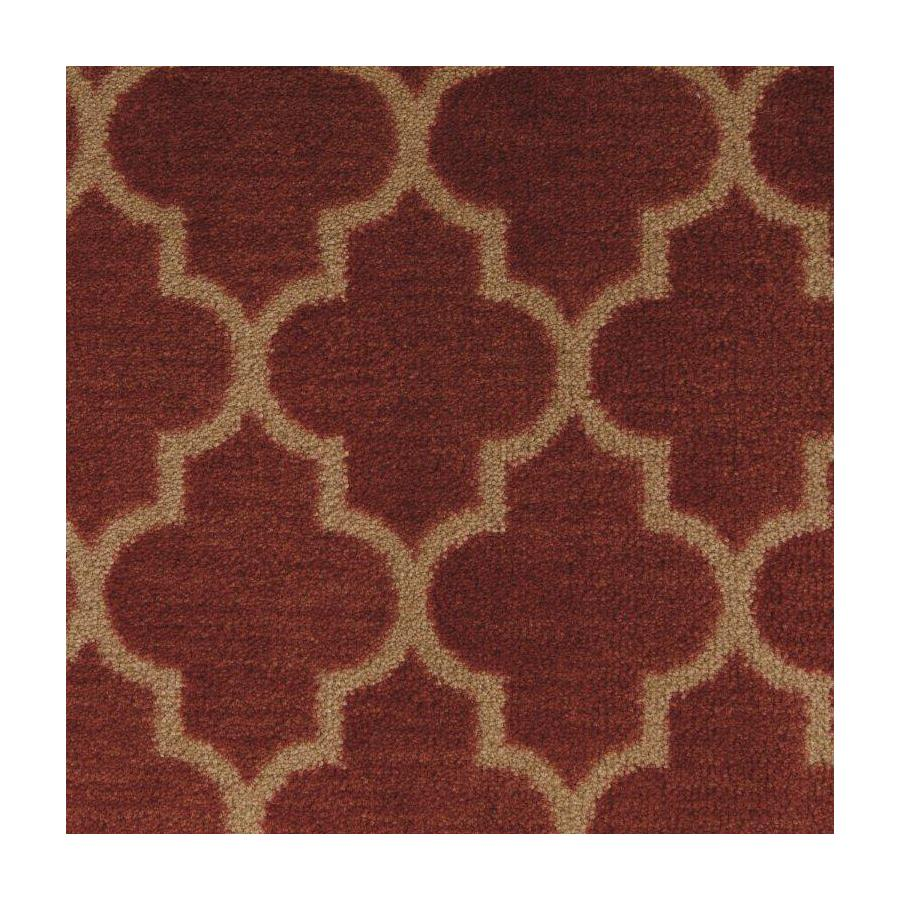 STAINMASTER Classic Grace Regal Red Saxony Carpet