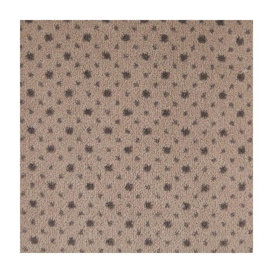 STAINMASTER To The Point Taupe Saxony Carpet