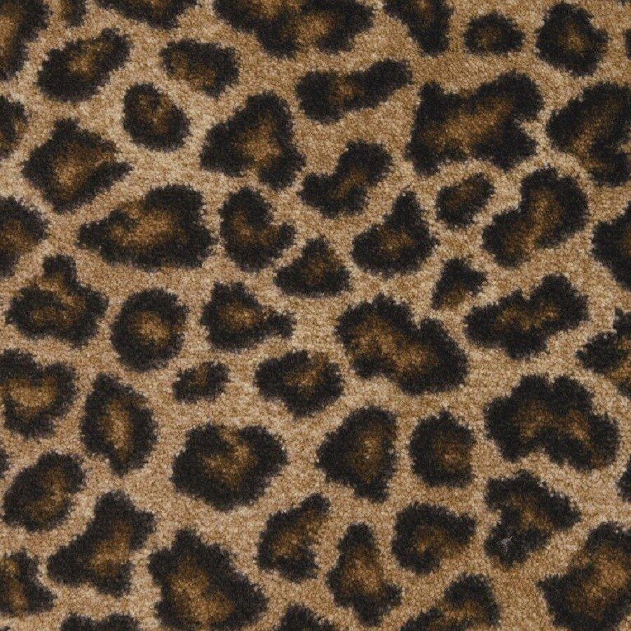 STAINMASTER Leopard Nylon Fashion Forward Carpet Sample