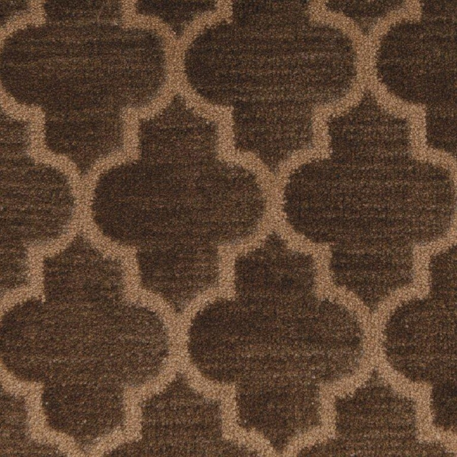 STAINMASTER Walnut Nylon Fashion Forward Carpet Sample