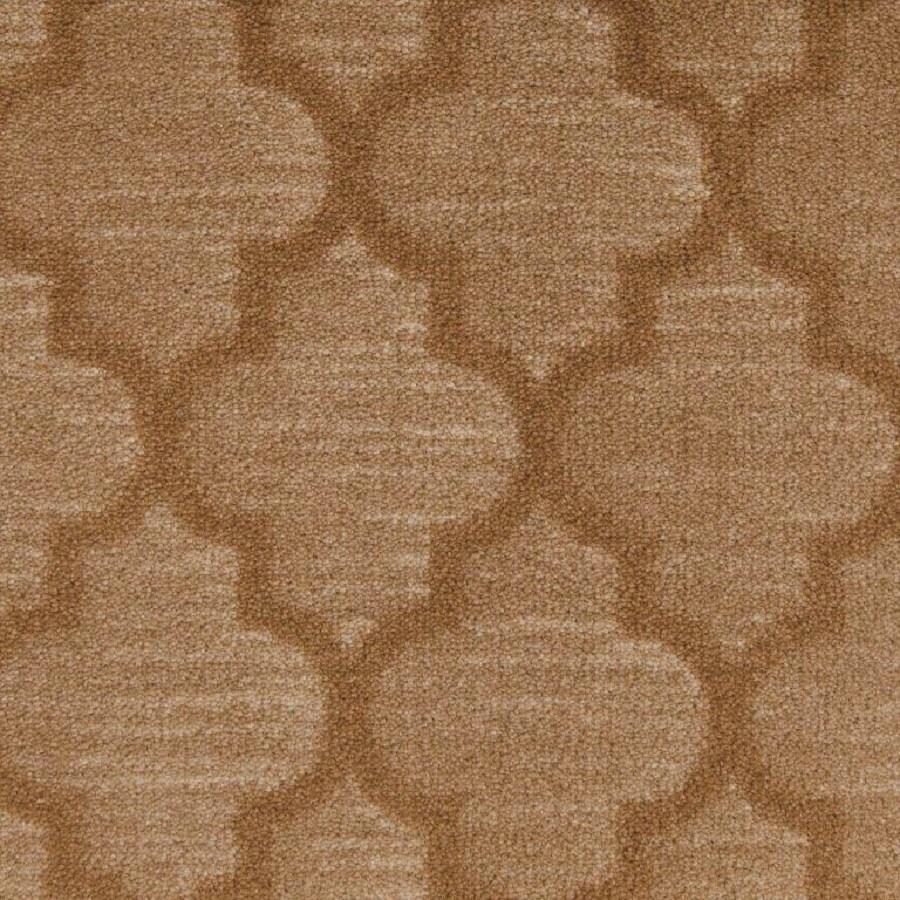 STAINMASTER Camel Tan Nylon Fashion Forward Carpet Sample