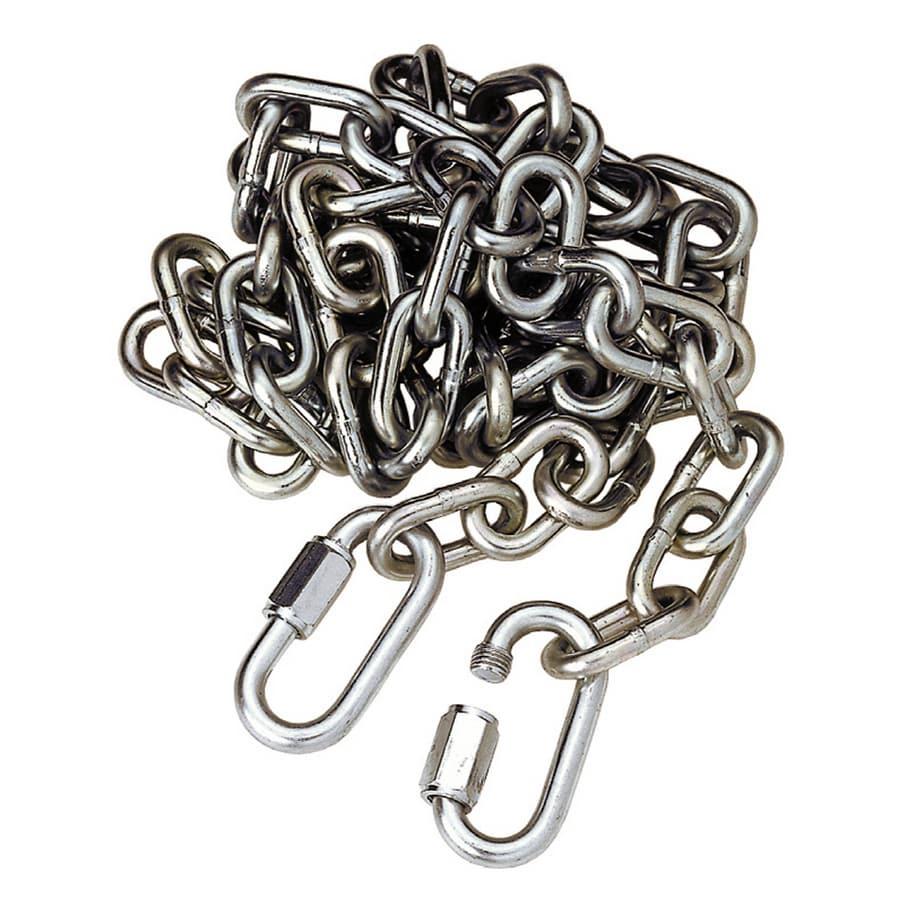 Reese 6-1/8-ft Welded Metallic Steel Chain