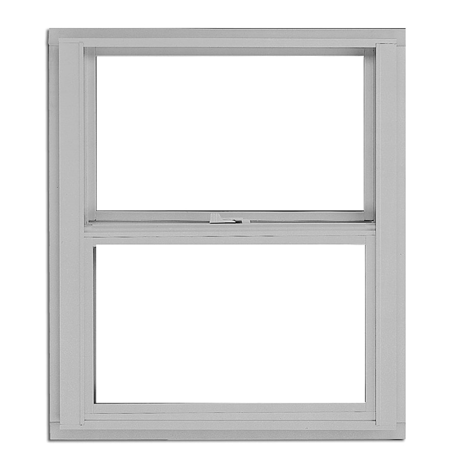 BetterBilt 3000TX Aluminum Single Pane Single Strength Egress Single Hung Window (Rough Opening: 36-in x 60-in; Actual: 35.375-in x 59.5625-in)