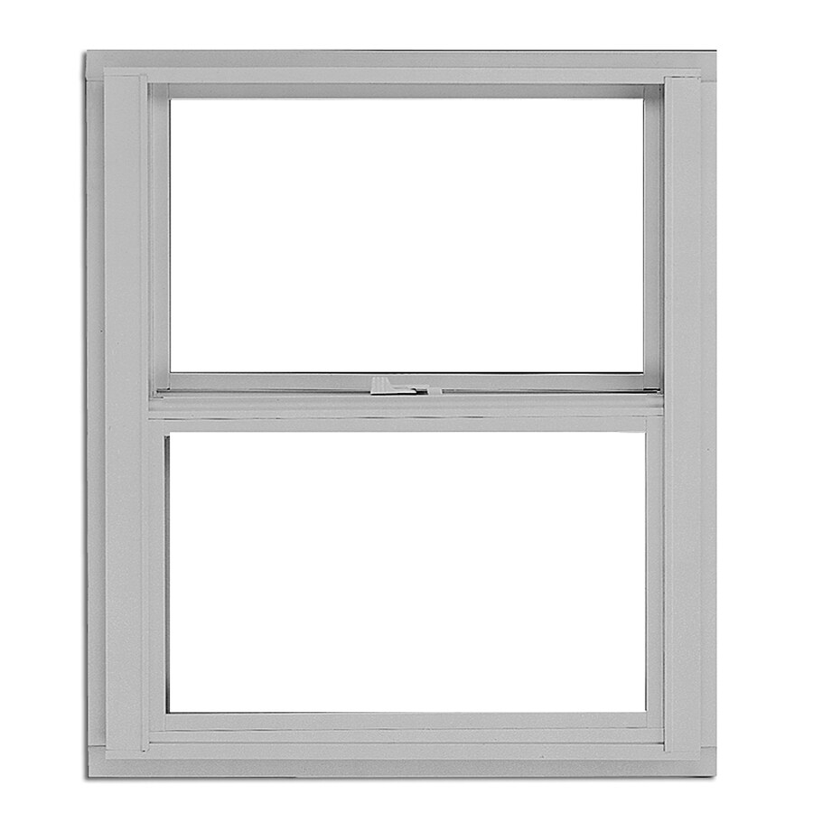 BetterBilt 3000TX Aluminum Single Pane Single Strength Single Hung Window (Rough Opening: 24-in x 28-in; Actual: 23.375-in x 27.5625-in)