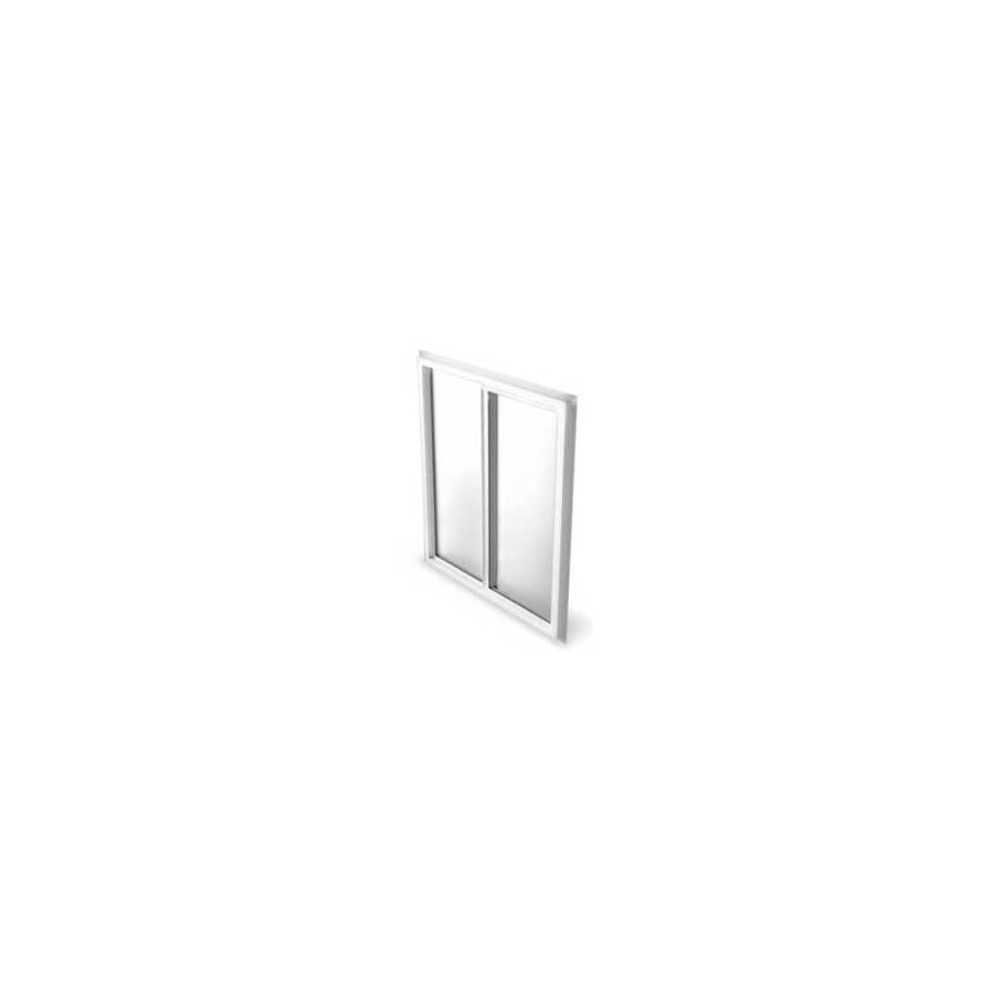 BetterBilt 5800 Series Left-Operable Vinyl Double Pane Single Strength New Construction Sliding Window (Rough Opening: 36-in x 36-in; Actual: 35.5-in x 35.5-in)