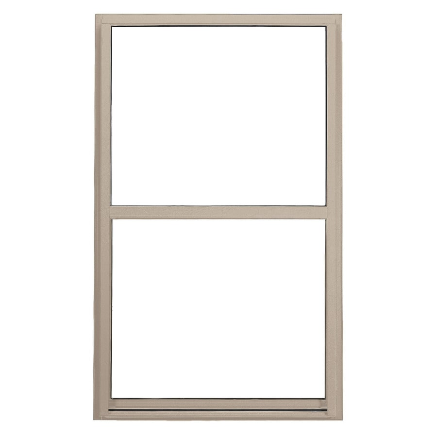 BetterBilt 5500 Series Vinyl Double Pane Double Strength Single Hung Window (Rough Opening: 24-in x 48-in; Actual: 23.5-in x 47.5-in)