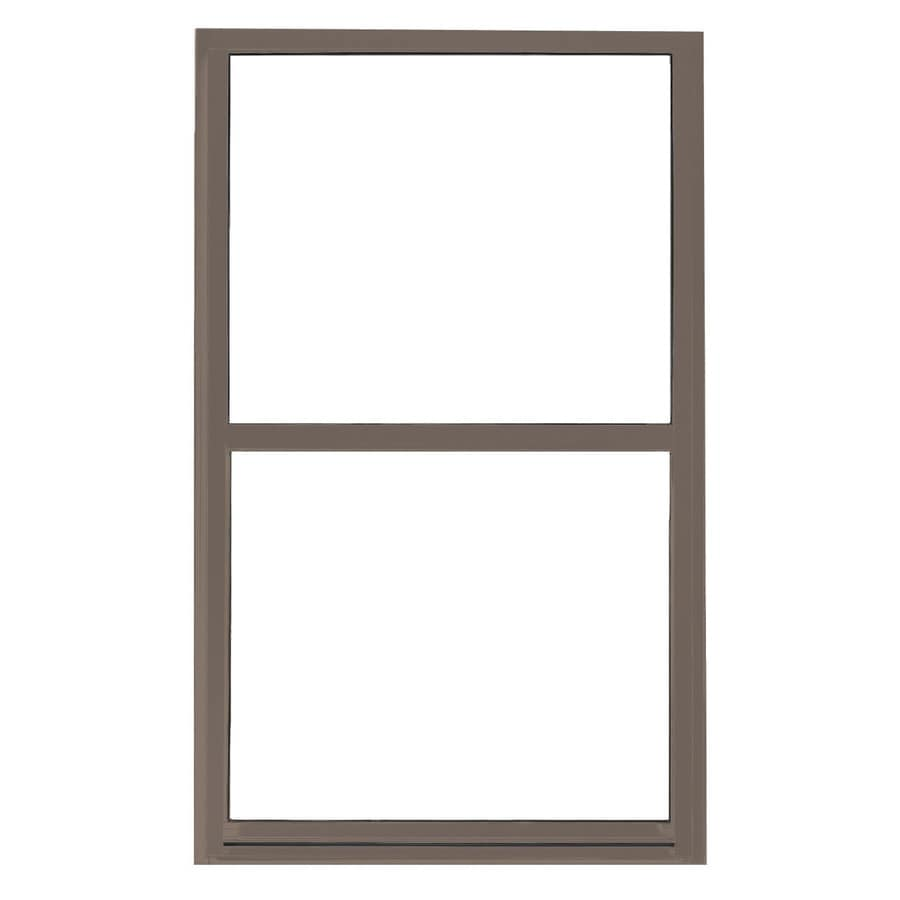 BetterBilt 865 Series Aluminum Double Pane Single Strength Single Hung Window (Rough Opening: 36-in x 48-in; Actual: 35.5-in x 47.5-in)