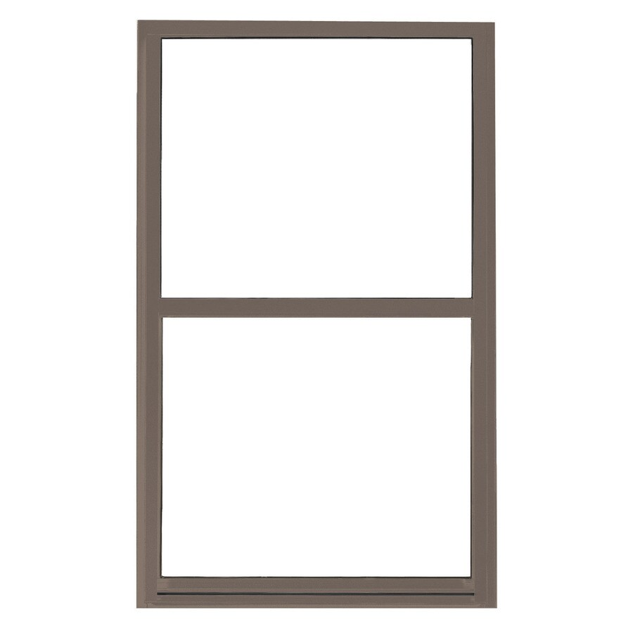 BetterBilt 865 Series Aluminum Double Pane Single Strength Egress Single Hung Window (Rough Opening: 36-in x 60-in; Actual: 35.5-in x 59.5-in)