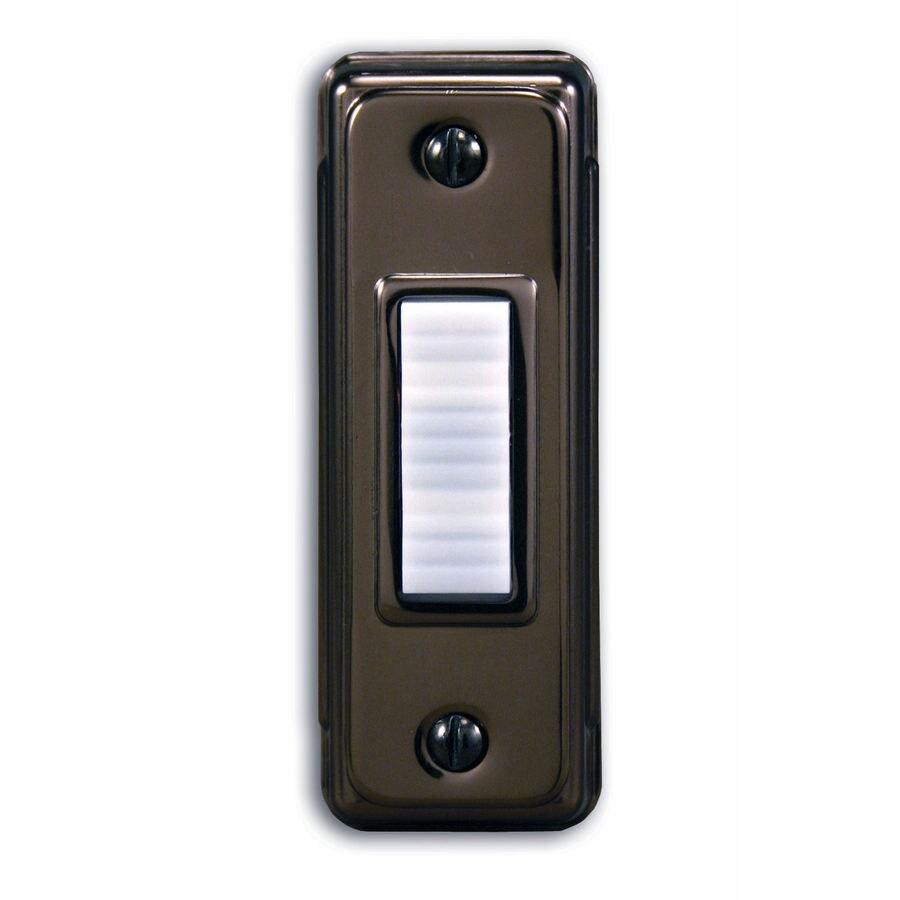 Utilitech Bronze Doorbell Button