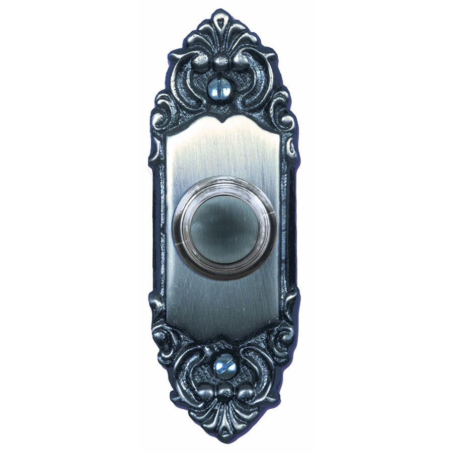Utilitech Pewter Doorbell Button