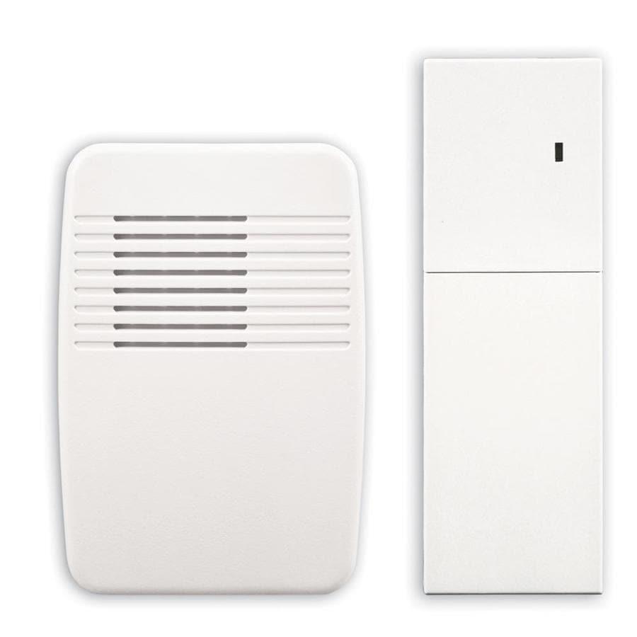 Utilitech White Wireless Doorbell Kit with Extender