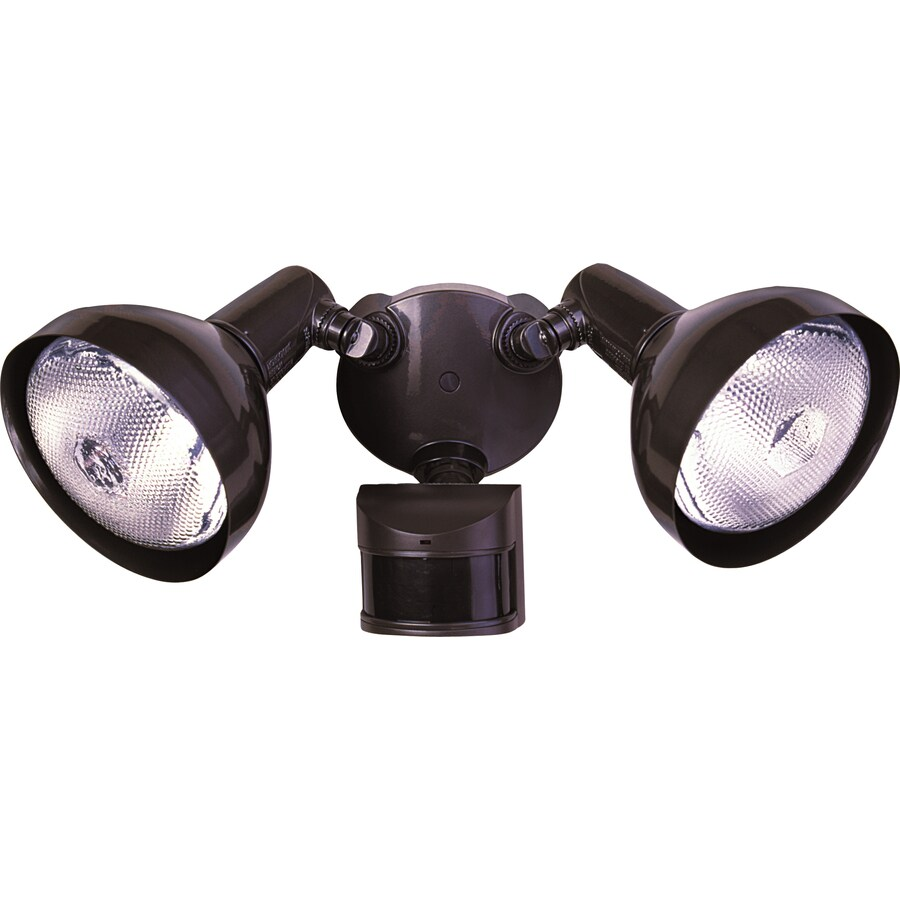 home zone led motion activated security light manual override