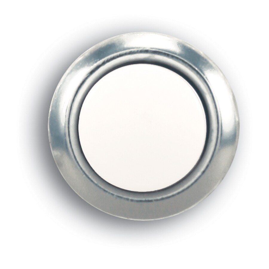 Utilitech Nickel Doorbell Button