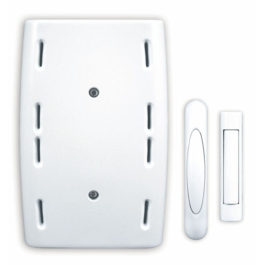 Heath Zenith White Wireless Doorbell Kit