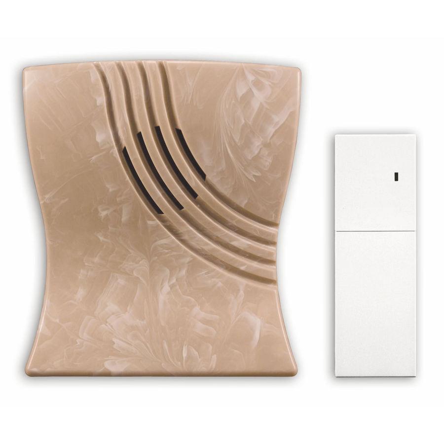 Heath Zenith Marble Wireless Doorbell Kit with Extender