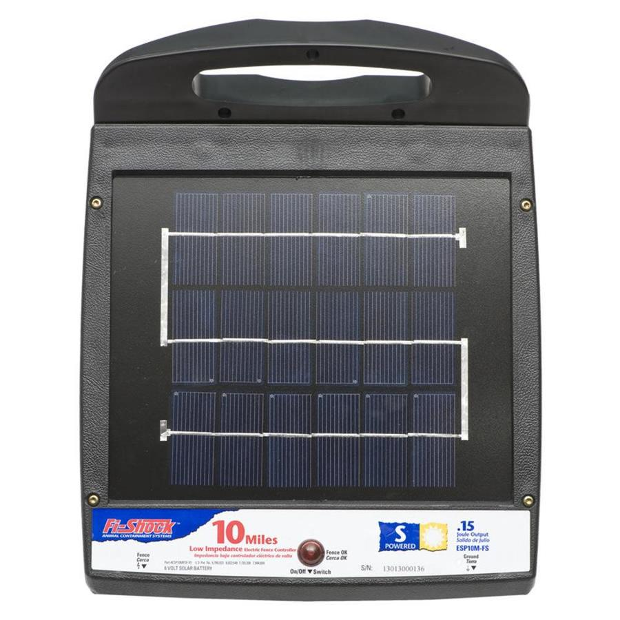 Fi-Shock 10-Mile Solar Electric Fence Charger