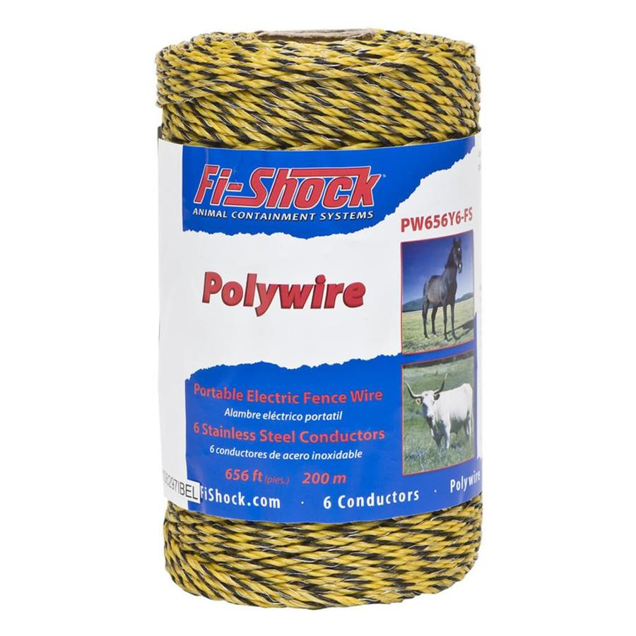 Fi-Shock 656-ft Electric Fence Poly Wire