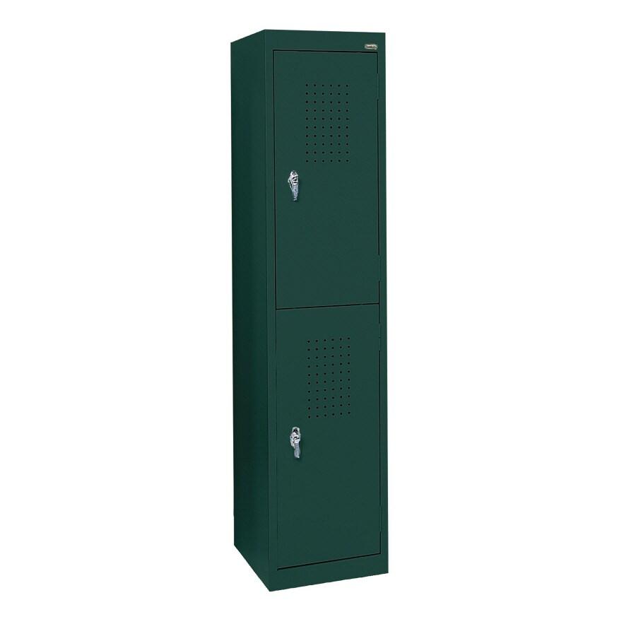 edsal 15-in W x 66-in H x 18-in D Green Steel Storage Locker