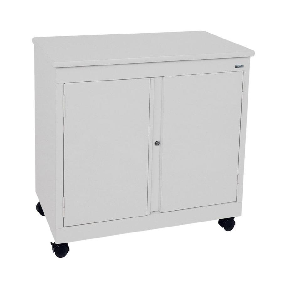 edsal 30-in W x 30-in H x 18-in D Steel Freestanding Garage Cabinet