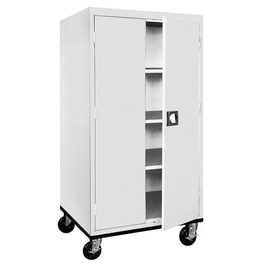 edsal 36-in W x 66-in H x 24-in D Steel Freestanding Garage Cabinet