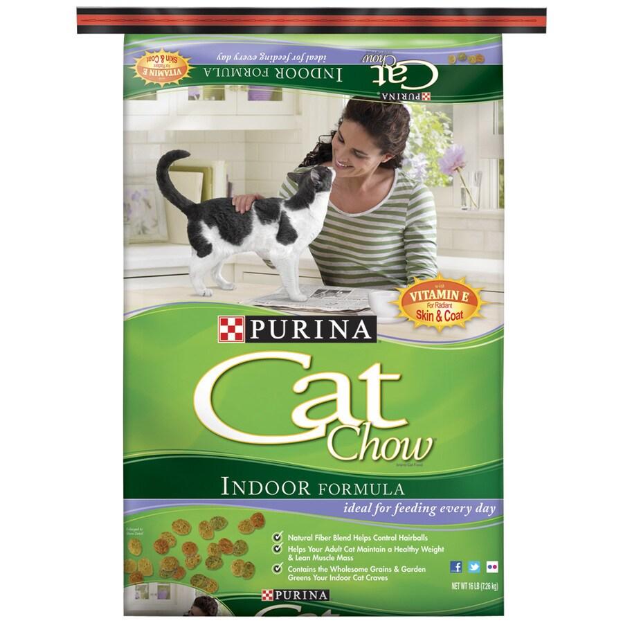 CAT CHOW 16.25-lbs Indoor Formula Adult Cat Food