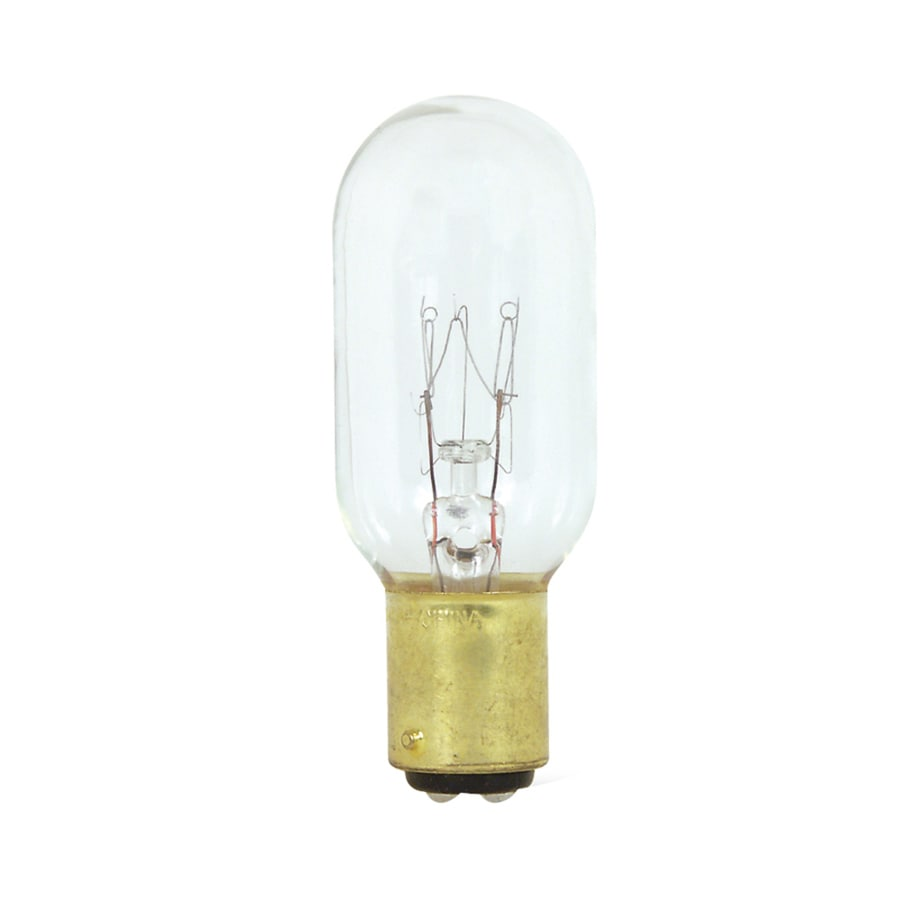 Feit Electric 25-Watt T8 Candelabra Double Contact (BA15D) Soft White Incandescent Appliance Light Bulb