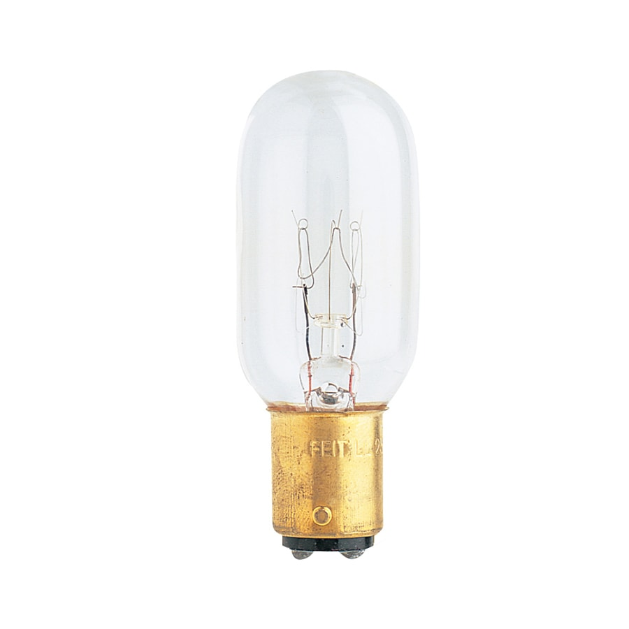 Feit Electric 15-Watt T7 Medium Base Soft White Incandescent Appliance Light Bulb