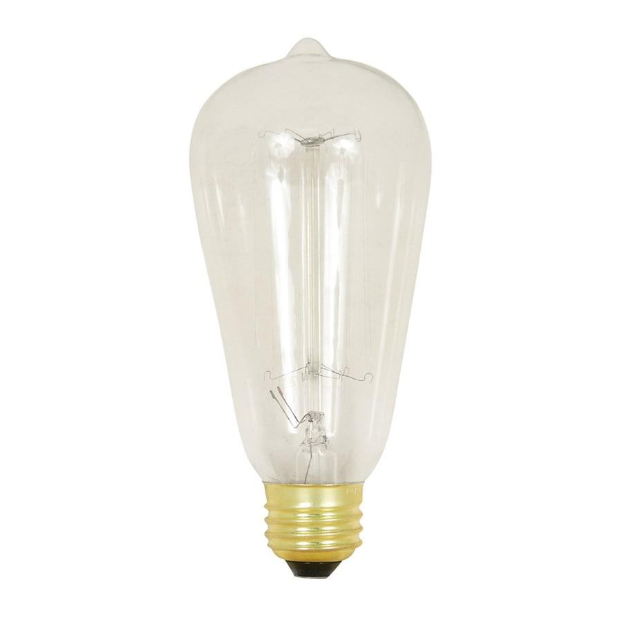 Feit Electric 60-Watt Medium Base (E-26) Soft White Dimmable Decorative Incandescent Light Bulb