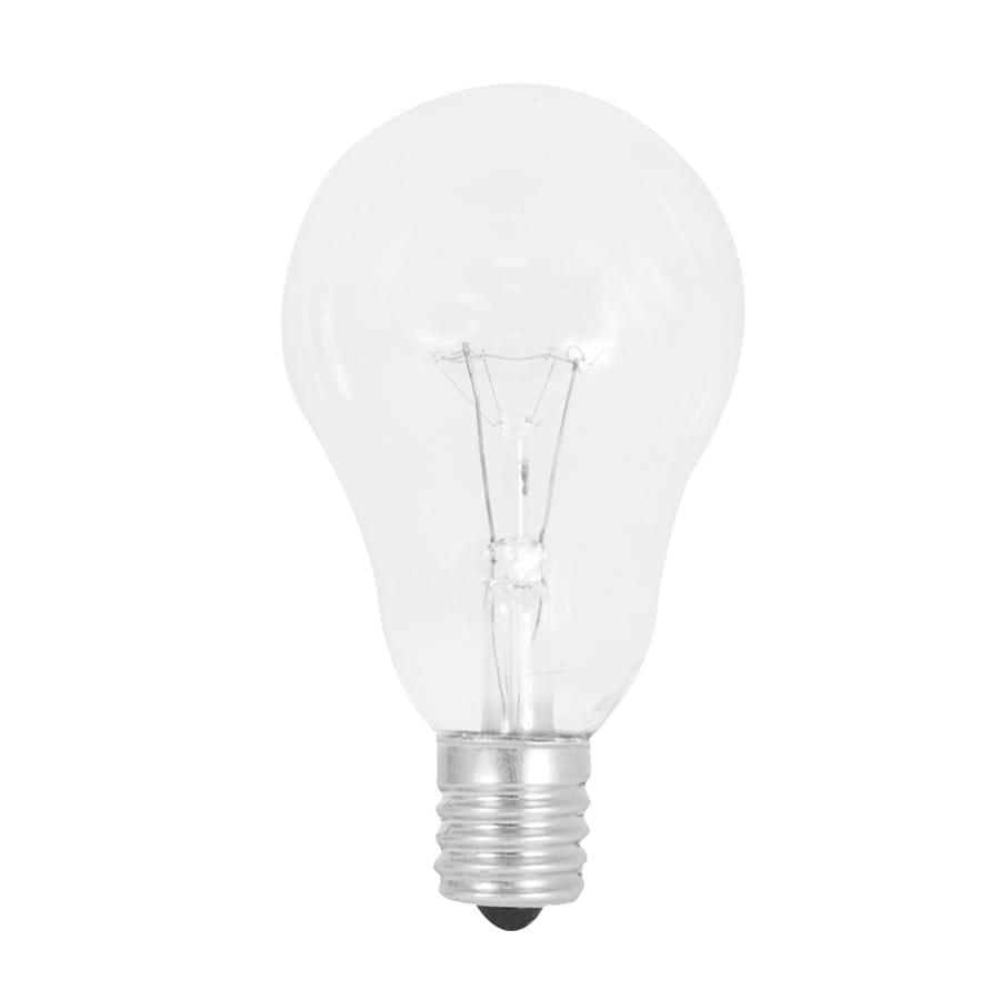 Feit Electric 2-Pack 60-Watt A15 Intermediate Base Soft White Incandescent Ceiling Fan Light Bulbs