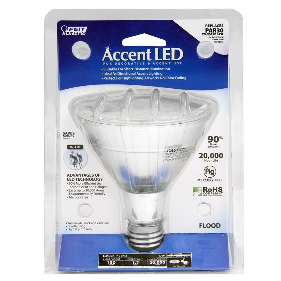 Feit Electric 1.7-Watt PAR30 Longneck Soft White Outdoor LED Flood Light Bulb