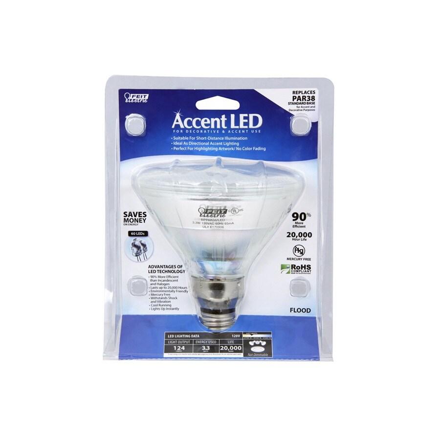 Feit Electric 3.3-Watt PAR38 Soft White Outdoor LED Flood Light Bulb