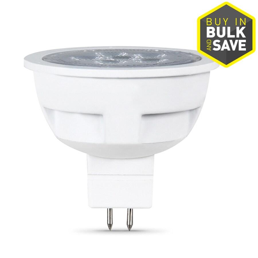 shop feit electric 7 5 watt 50w equivalent 3000k mr16 gu5 3 warm white indoor outdoor led bulb. Black Bedroom Furniture Sets. Home Design Ideas