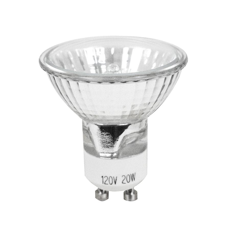 Feit Electric 2-Pack 20-Watt Xenon MR16 GU10 Pin Base Bright White Dimmable Halogen Accent Light Bulbs