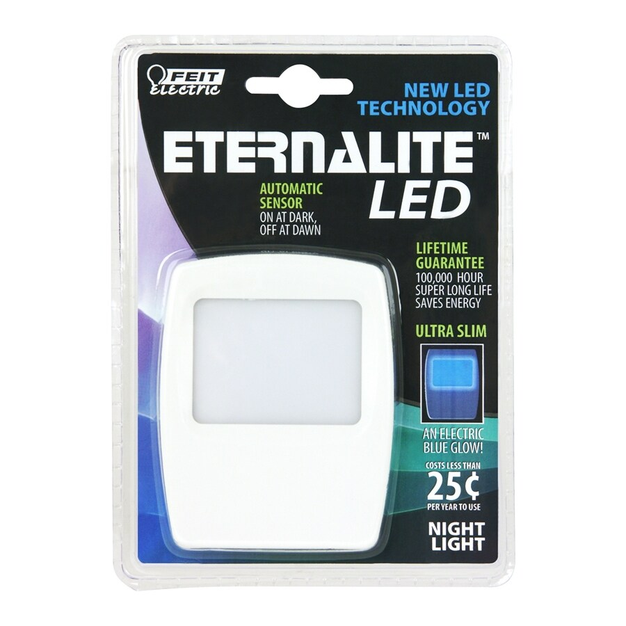 Feit Electric White LED Night Light with Auto On/Off