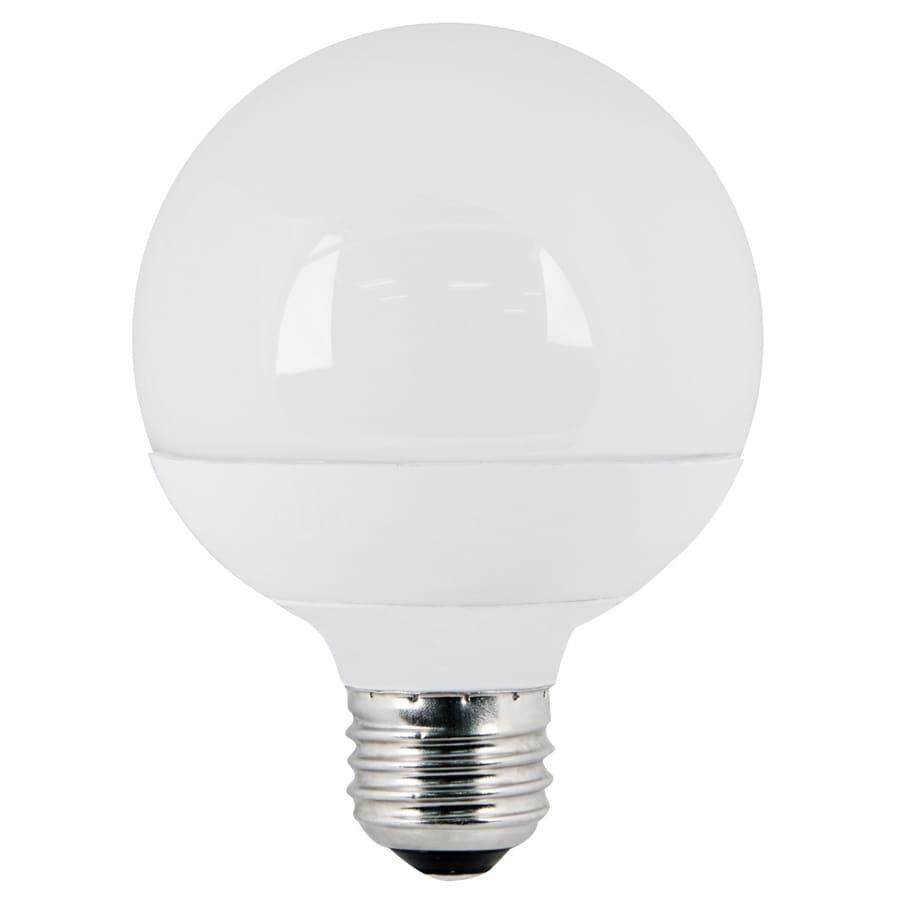 Utilitech 10-Watt Medium Base Warm White (3,000K) Decorative LED Light Bulb